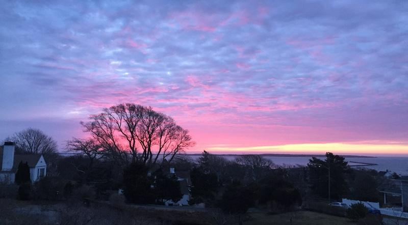 A picture of the sunrise on Easter